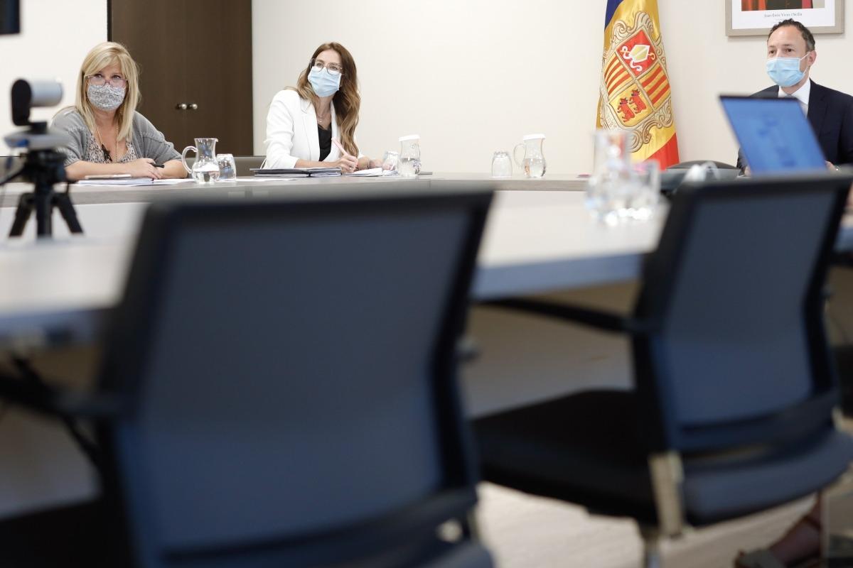El cap de Govern ha presidit la reunió telemàtica del patronat de la Fundació Ramon Lull.