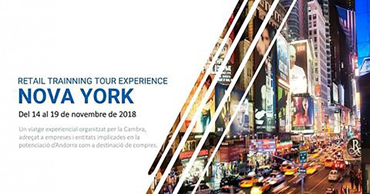 CCIS/ La Cambra organitza un viatge amb comerciants a Nova York.