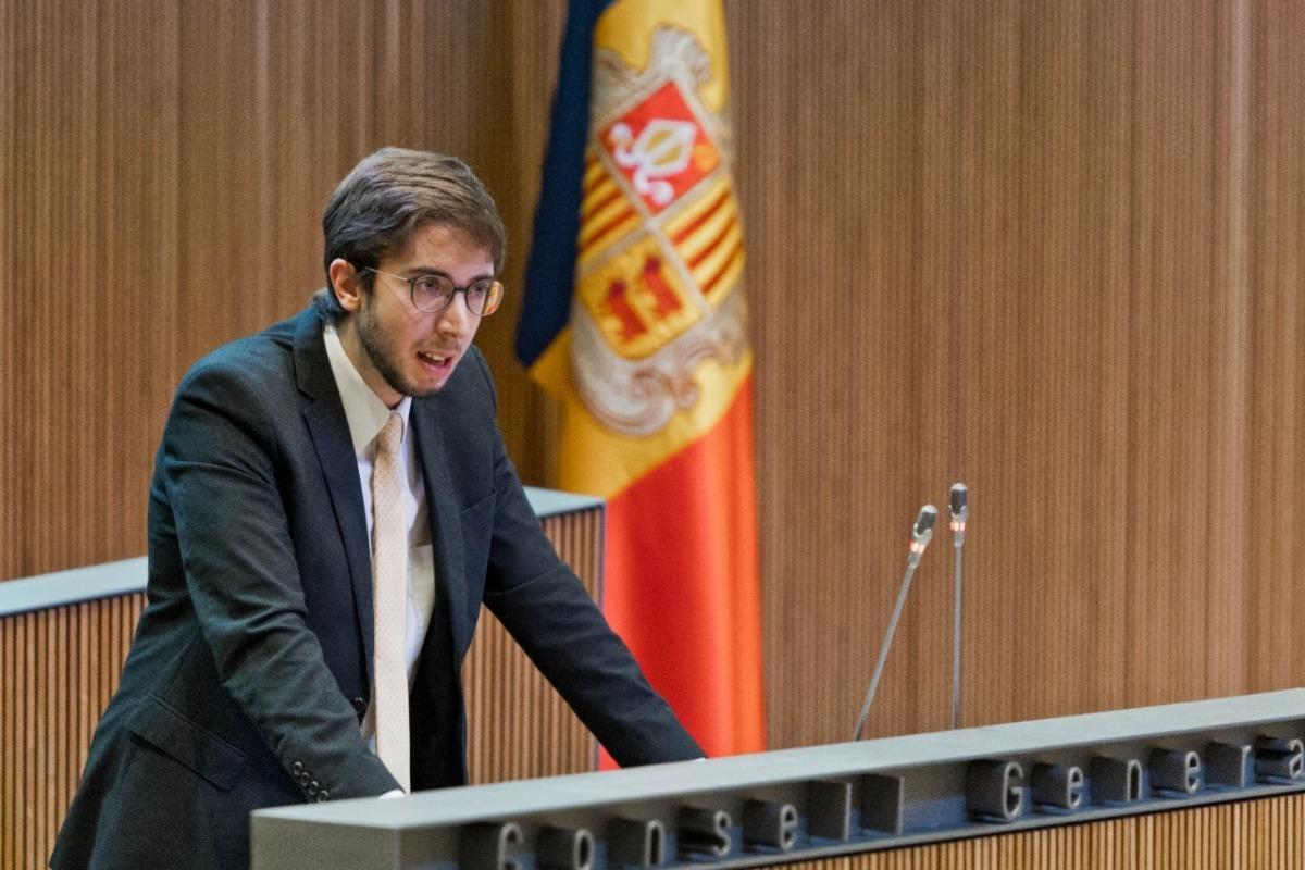 El conseller general socialdemòcrata Roger Padreny.