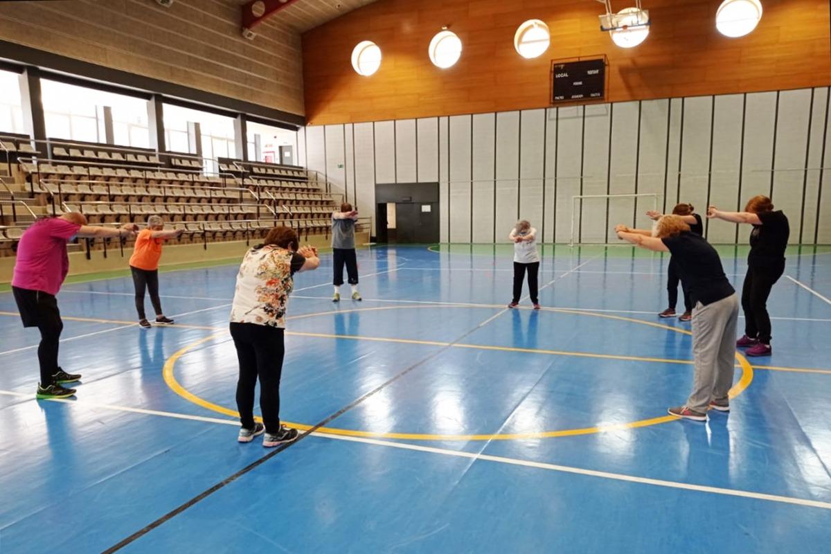 Una de les activitats que es duu a terme al Centre esportiu dels Serradells.