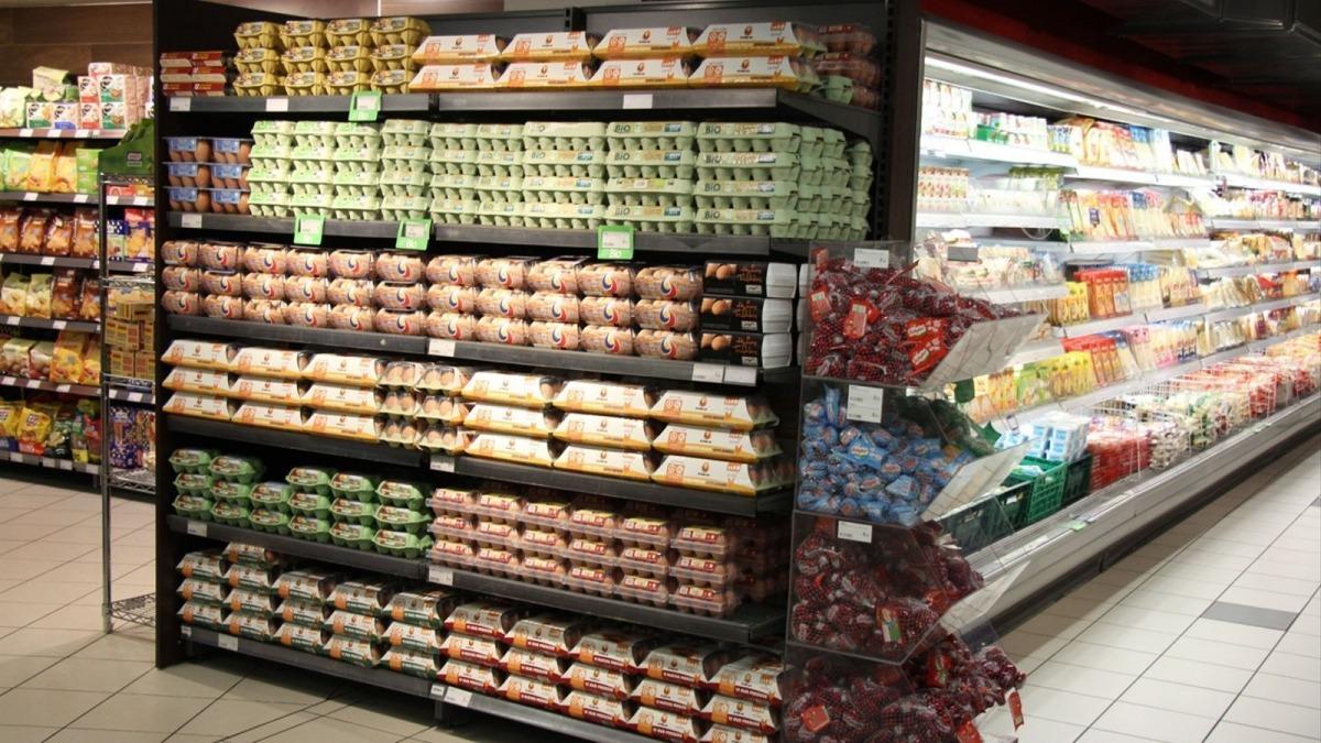 Productes en un supermercat.