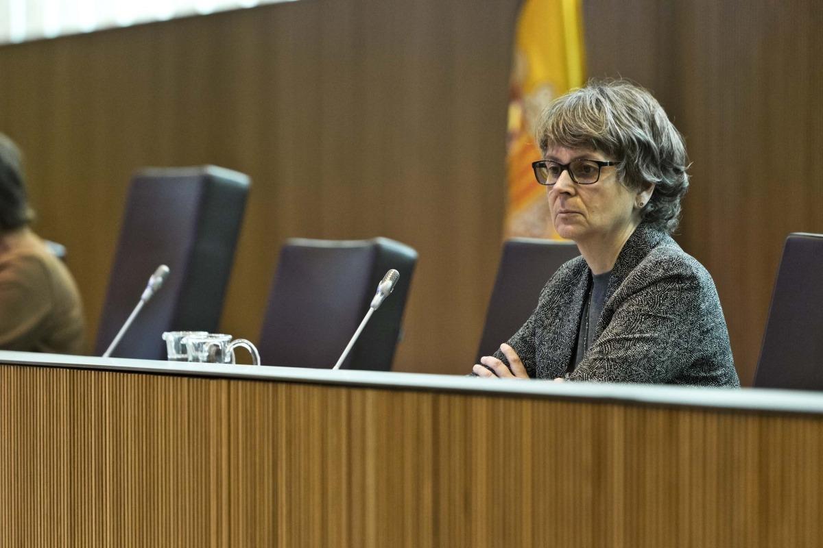 La consellera general del PS Susanna Vela.