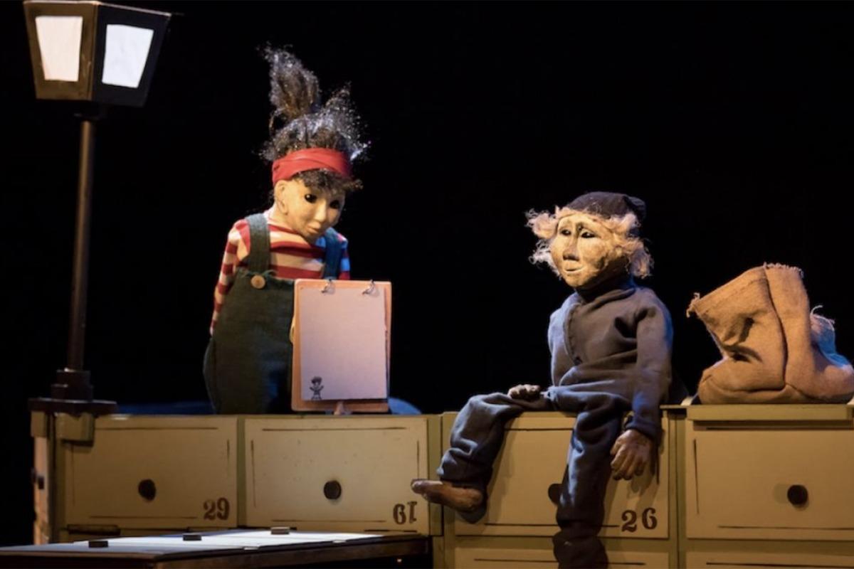 Un instant de l'espectacle 'Roig Pèl-Boig' que es farà al Teatre Comunal d'Andorra la Vella.