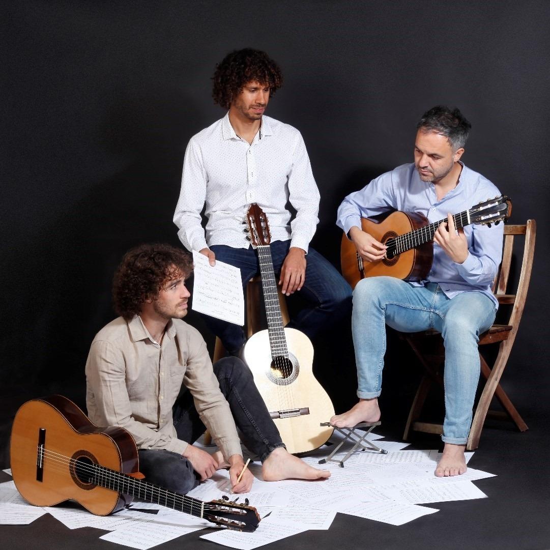 Components del Trio Desconcierto.