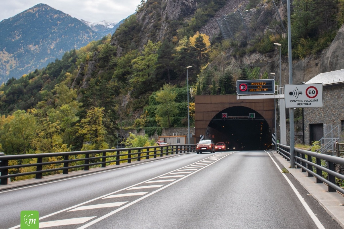 El túnel del Pont Pla.