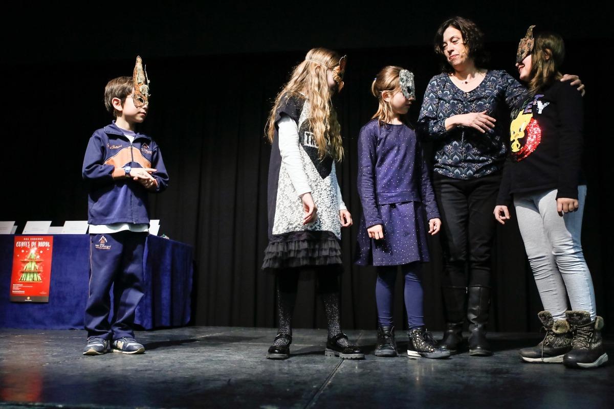 Mariona Bessa s'endú el concurs de contes de Nadal