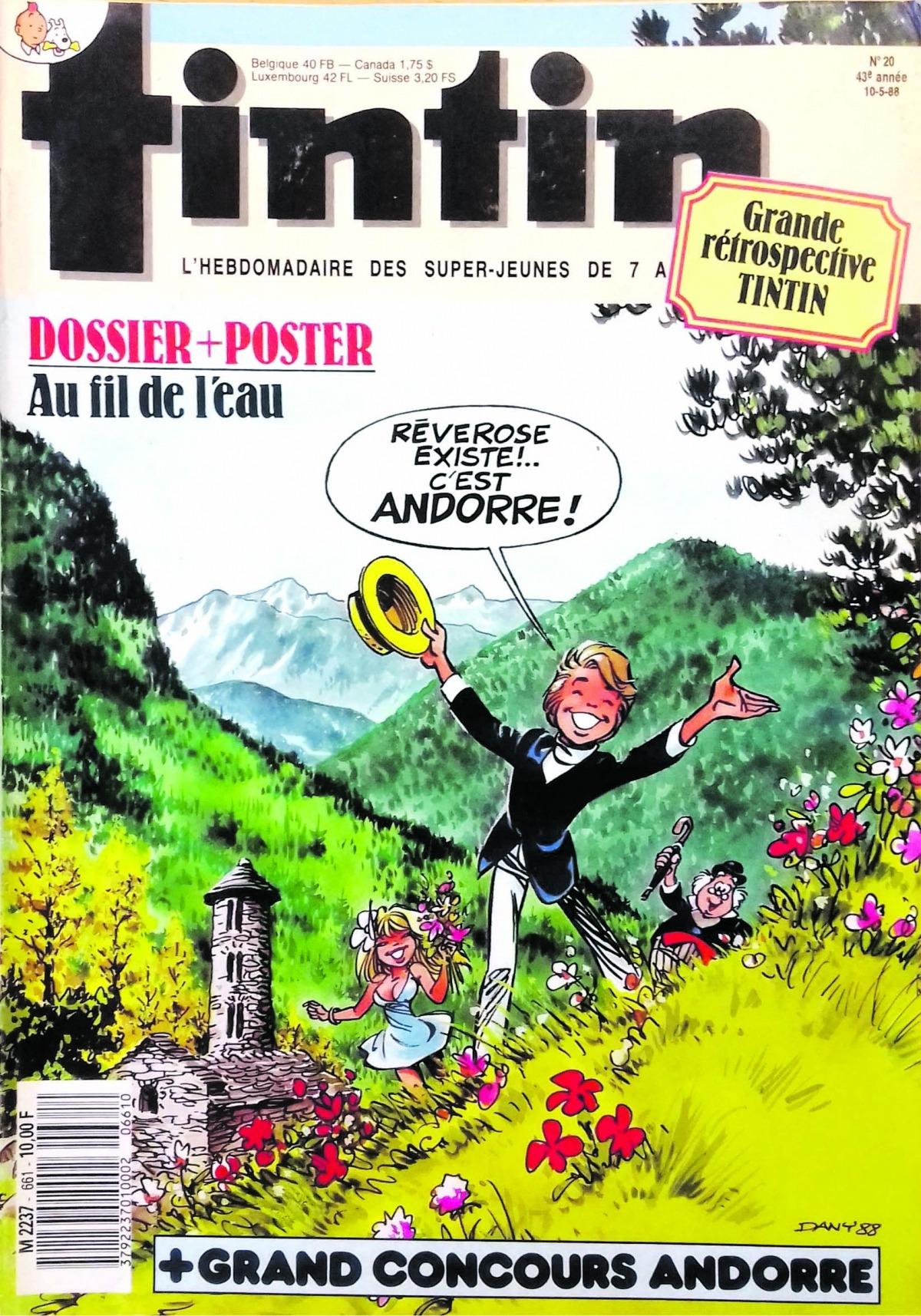Olivier Rameau, la bella Colombe i el fidel Pertinent es pensen que són a Rêverose, però no, millor encara: és Andorra.