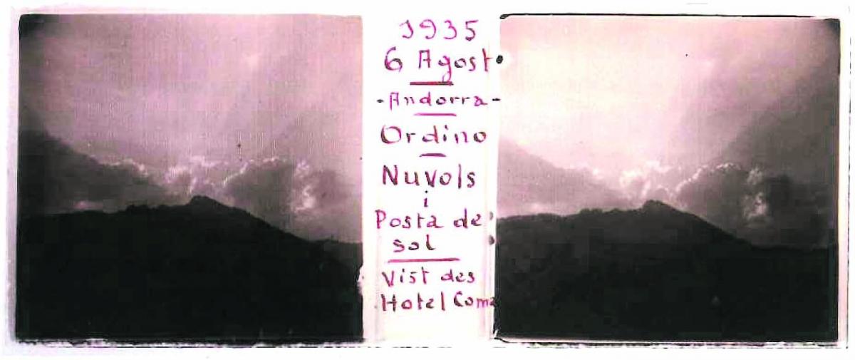 El fons de Forns inclou 106 plaques andorranes, que va fer al llarg de tres estius: els de 1930, 1933 i 1935. La col·lecció completa la integren 2.058 fotografies, i es conserva al Museu Nacional de la Ciència i de la Tècnica de Catalunya.
