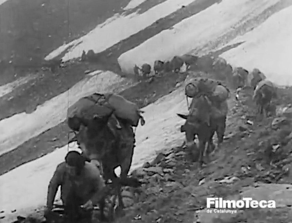 Andorra, Ordino, Picurt, Filmoteca de Catalunya, Carlos Martínez, Cinema Recuperat, Batallons de muntanya, Herois d'Espanya: la 43a divisió, Laya Films