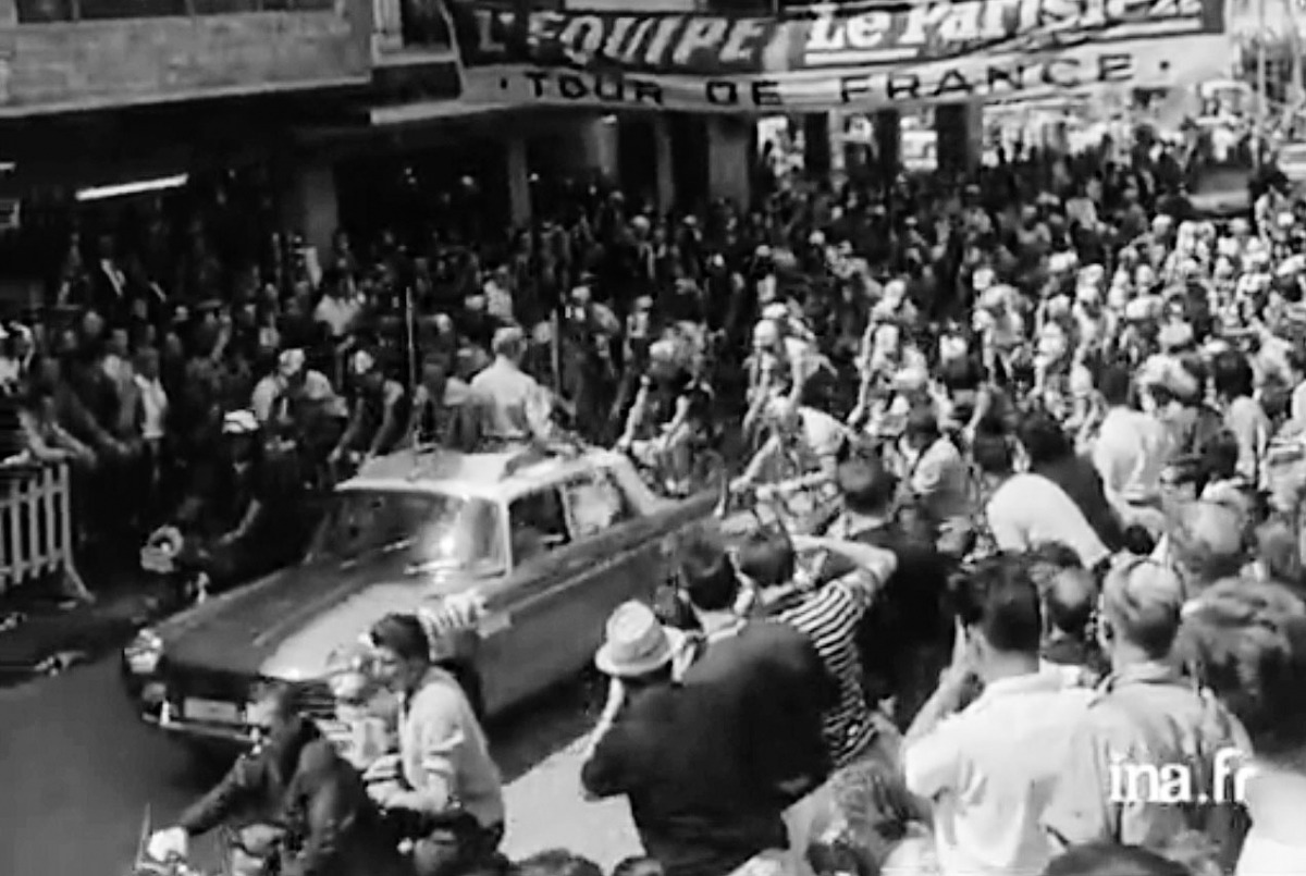 Andorra, Tour 64, Envalira, Anquetil, Poulidor, Institut National de l'Audiovisuel, Mémoire Filmique du Sud, No-Do