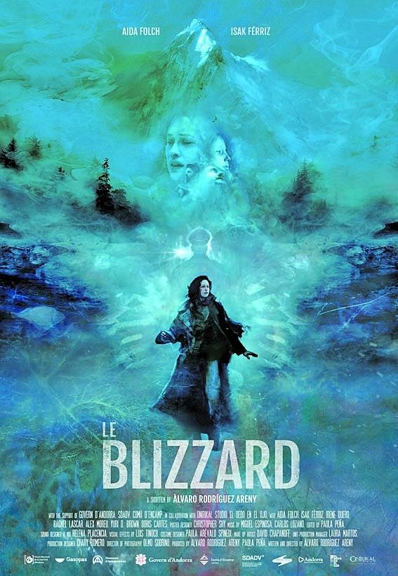 Cartell oficial de 'Le Blizzard'.
