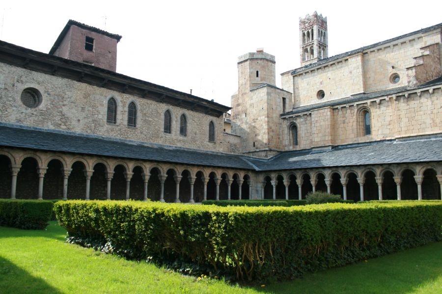 El claustre de la cetadral de Santa Maria, una de les joies que es podran visitar amb el nou servei del bisbat.