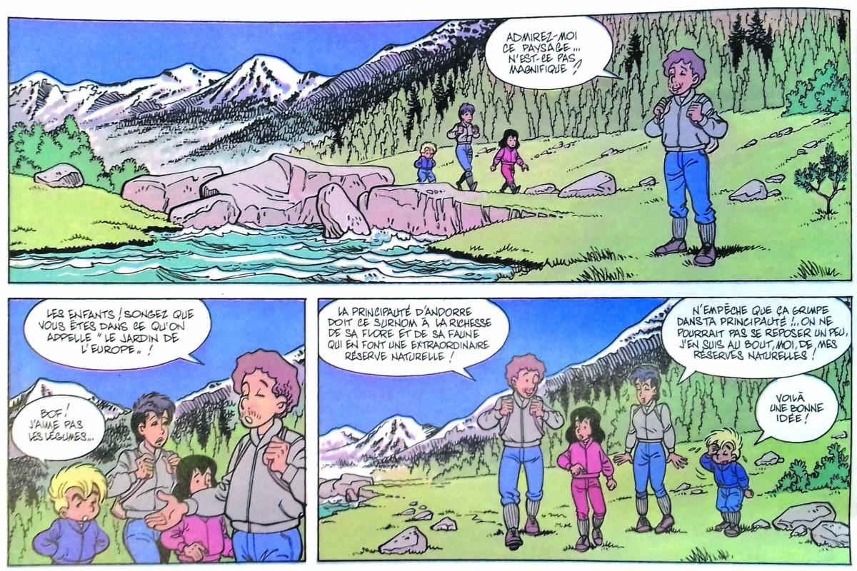 """Andorra és """"le jardin de l'Europe"""", segons els excursionistes de Dany per a la sèrie 'De l'autre côté de l'écran'."""