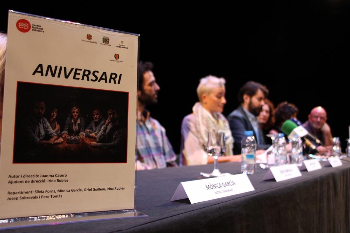 Andorra, teatre, Sant Julià, la Massana, Fontetes, Claror, Aniversari, ENA, Casero, Pere Tomàs, Escena Nacional