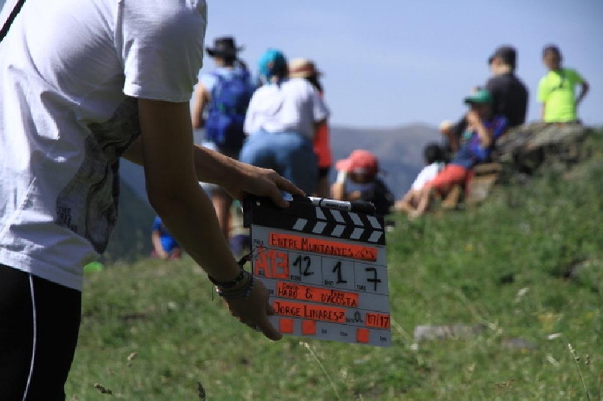 El documental 'Entre muntanyes' que repassa els 40 anys d'història d'AINA, es va rodar ara fa dos estius.
