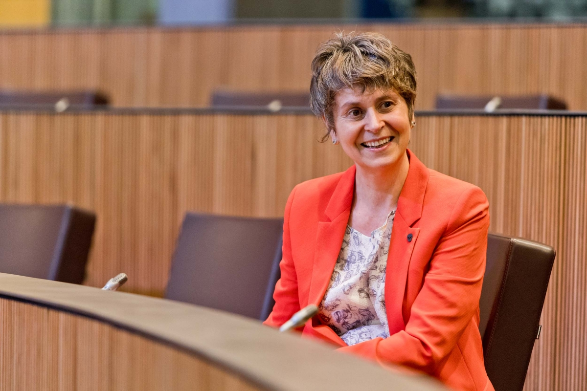 La consellera general del PS, Susanna Vela.
