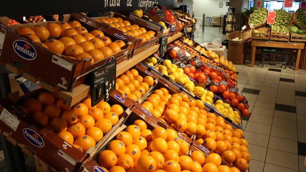 Les vendes d'alimentació cauen al mes de març.