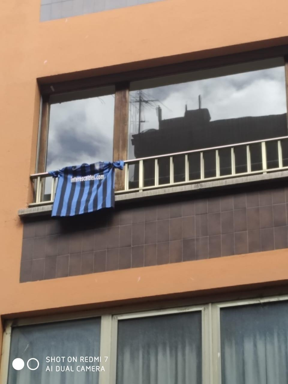 Una samarreta de l'Inter d'Escaldes per recordar al Marcelo.