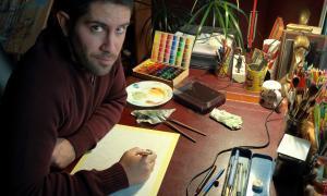 Andorra, Escaldes, Xavi Casals, còmic, il·lustració, Sherlock Holmes, colorista, Colomino, Palomé