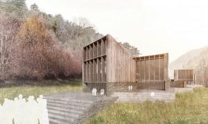 Recreació de com serà el centre de Grifols a Ordino.