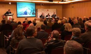 Més de 120 persones assisteixen a la conferència sobre l'IRPF organitzada per MoraBanc