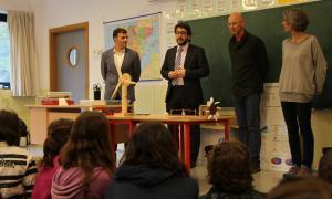 El Govern invertirà 500.000 euros en millorar l'eficiència energètica a les escoles