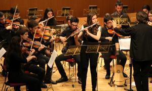 Ple al Concert de Primavera de la Fundació ONCA, que ha comptat amb 130 intèrprets