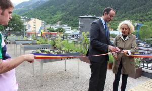L'Escola Nostra Senyora de Meritxell amplia els horts gràcies al Cos de Voluntaris per la Natura