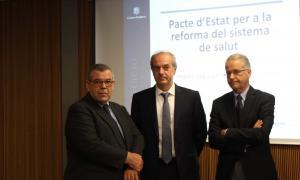 Álvarez Marfany espera tancar el pacte d'Estat sobre salut a la tardor i que el suport sigui ampli