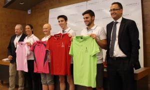 """Jaume Martí agraeix als olímpics el seu esforç i els recorda que """"el país estarà pensant"""" en ells"""