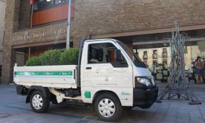 Andorra la Vella esdevé la primera administració en adquirir un vehicle industrial elèctric