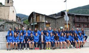 La Reial Societat de futbol femení prepara la temporada a Ordino per cinquena vegada i en destaca la bona acollida