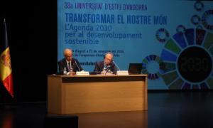 Martí defensa la contribució d'Andorra als organismes internacionals