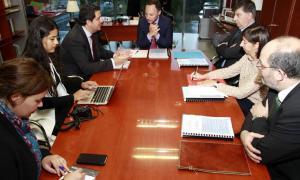 Espot expressa la voluntat d'augmentar la cooperació judicial amb els països iberoamericans