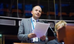 Carles Jordana defensa a Estrasburg el compromís d'Andorra per lluitar contra els crims contra la humanita