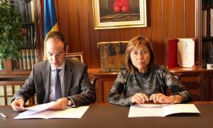 El Comú i el Govern signen l'acord per traslladar el camp d'exàmens de conduir a la Margineda