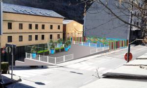 El Comú d'Andorra la Vella habilitarà un espai públic en una parcel·la de l'avinguda Santa Coloma