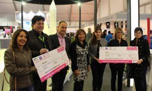 La Cursa de la Fira d'Andorra la Vella reparteix 1300 euros entre Unicef i ASSANCA