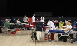 La tercera campanya de la Creu Roja tanca amb 263 donacions de sang