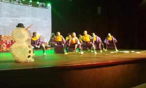 Dansa i talent damunt de l'escenari d'Encamp