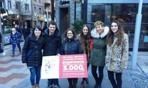 La campanya 'Comprar a Andorra per Nadal té premi' es va tancar amb 39.000 butlletes