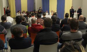 Vives visita el Centre Penitenciari per celebrar el Nadal amb els interns