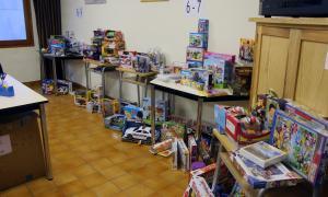 Càritas repartirà joguines a 227 nens del país i agraeix l'augment de les donacions de la població