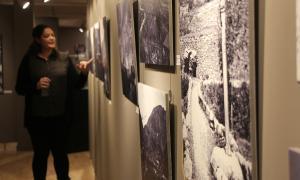 La Fundació Crèdit Andorrà organitza una visita a l'exposició 'Escaldes-Engordany: dues viles i un territori'