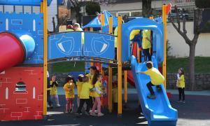 Una quarantena de nens participen al Casal de Pasqua de Sant Julià