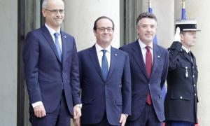 Martí i Mateu s'acomiadaran d'Hollande en una visita a París el 25 d'abrilMartí i Mateu s'acomiadaran d'Hollande en una visita a París el 25 d'abril
