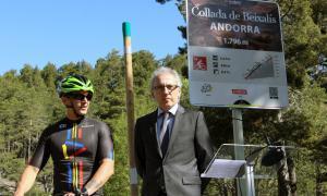 Nova senyalització dels ports, un mallot d'Andorra i acords amb turoperadors per captar turisme de bicicleta