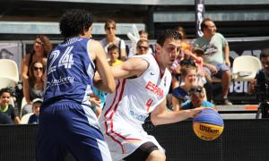 La plaça Coprínceps s'omple d'amants del bàsquetLa plaça Coprínceps s'omple d'amants del bàsquet