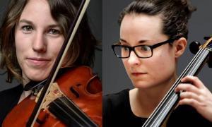 L'ONCA ofereix un duo de cordes al Museu de la Moto de Canillo