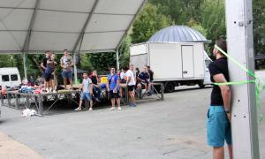 El tradicional ral·li sorpresa d'Encamp aplega una vintena de joves